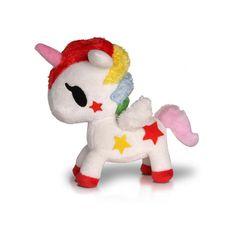 Stellina Unicorno Plush ❤ liked on Polyvore featuring stuffed animals