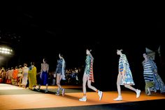 @missoni  S/S 2016  @backstageat   See more @voguemagazine: http://bkstge.at/MFW-PHOTO-DIARY-VOGUE