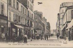 rue Vercingétorix - Paris 14ème Paris France, Paris Rue, Rive Gauche, Street View, Corsica, Places, Old Paris, Antique Pictures, Photographs