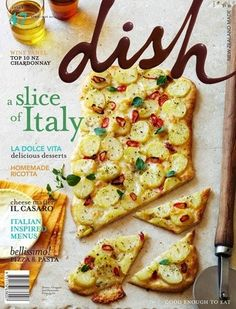 Dish Magazine, Apr/May 2013 (searchable index of recipes)