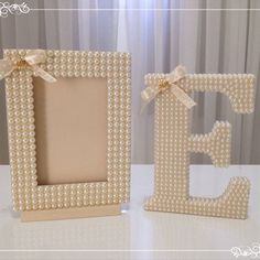 Pin by arzu şanlı on denencek herşey 1 Diy Rangement, Diy Bebe, Diy Casa, Nursery Letters, Wood Letters, Pearl Letters, Diy Letters, Letter A Crafts, Baby Decor