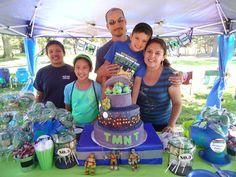 TMNT Teenage Mutant Ninja Turtle Birthday Party Ideas | Photo 3 of 29 | Catch My Party