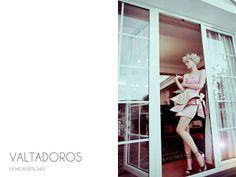 Hair stylist :Vassilis Saroglou Photographer: Irina Dianova-Spiru Designer Valtadoros Paris Styling: Giselle Karounis Make-up artist : Jian Li Model : Thea Athan