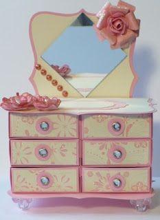 Let's create: Matchbox Dresser