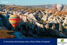 Uma deslumbrante viagem pela Turquia, país que é historicamente o berço de antigas civilizações e elo entre as culturas européia e asiática, conhecendo, suas belezas naturais e atrações de belezas incontestáveis além de sua fascinante história. Saiba mais!http://bit.ly/1oEaGgV  #Turquia #Capadocia #Kusadasi #Efeso #Cesme #Alacati #Chios #Izmir #Istambul #SlowTurk #QueensberryViagens