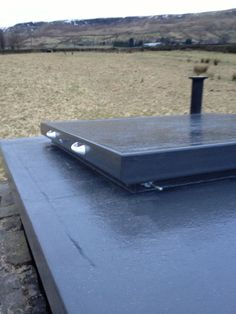 We Installed A Grp Roofing System To An Observatory In Todmorden. Vandal  And Impact Resistant