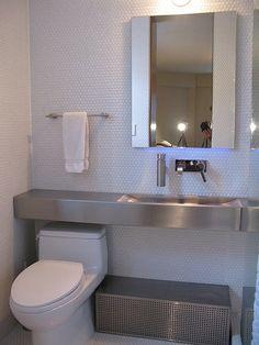 wall-mounted hand soap pump