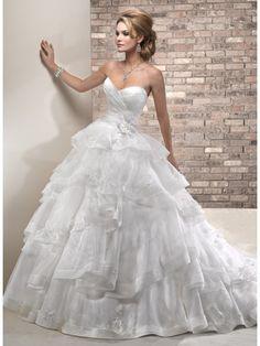 Brautkleid Brautkleid, Einfache Linien, Neue Wege, Hochzeitskleid Organza,  Kleid Hochzeit, Brautkleider 94db3e0c6a