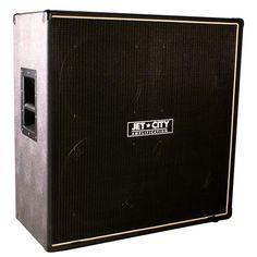 Jet City Amplification 48CV American Custom Cabinet 4x12 Celestion Vintage 30, Black on Black, White Piping by Jet City Amplification jsmartmusic.com