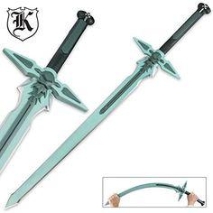 Sword Art Online Foam Sword Kirito Kirigaya Kazuto Dark Repulser Fantasy LARP - http://collectibles.goshoppins.com/knives-swords-blades/sword-art-online-foam-sword-kirito-kirigaya-kazuto-dark-repulser-fantasy-larp/
