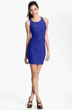 Soprano Cutout Racerback Body-Con Dress (Juniors) (Online Only) on shopstyle.com