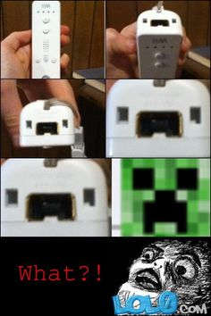 ITS A SIGN!!!!!!!!!!!!!!!!!!!!!! THE CREEPERS ARE COMING TO THE WII!!!!!!!!!!!!!!