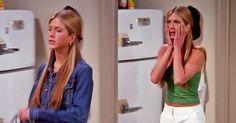Jennifer Aniston   Rachel Green Rachel Green Friends, Rachel Green Outfits, Rachel Green Style, Brad And Jen, Jenifer Aniston, Super Long Hair, Fashion Inspiration, Outfit Ideas, Goals