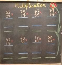 Grade 4- Multiplication