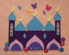 Your place to buy and sell all things handmade Diy Arts And Crafts, Felt Crafts, Diy Crafts, Animal Crafts For Kids, Diy For Kids, Ramadan Activities, Ramadan Gifts, Islam For Kids, Islamic Gifts