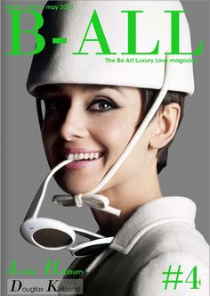 B-ALL # 4 cover Audrey Hepburn by Douglas Kirkland