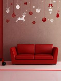 Christmas Party BallsGraphic Wall Stickers
