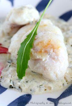 Joue de lotte, crème au citron à la thaï Culinary Arts, Bistro, Seafood, Health Fitness, Cheese, Fish, Vegan, Cooking, Breakfast