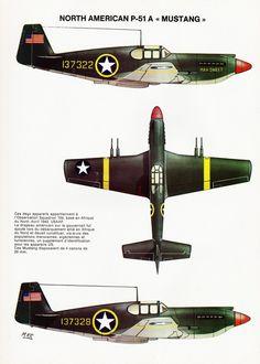 Mach 1 N°6 - 4e de couverture - North American P-51 A Mustang