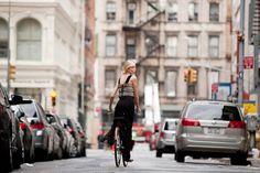bike con estilo. se puede