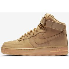 Nike Air Force 1 Hi Women's Shoe. Nike.com ($140) ❤ liked on Polyvore featuring shoes, nike shoes, nike footwear and nike
