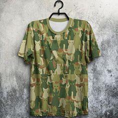 Camiseta Catmouflage