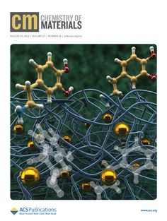 My vision of hybrid nanocomposites is on the front cover of Chemistry of Materials journal Chem of Materials  Jillian Buriak