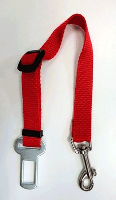 Red Color Auto Car Vehicle Safety Seat belt Lead to Harness for Cat Dog Pet Seat belt by AISON -- Read more reviews of the product by visiting the link on the image. (This is an Amazon affiliate link)