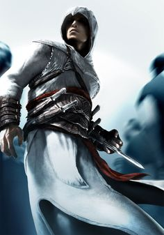 Assassin's Creed Art & Pictures  Altair in Crowd