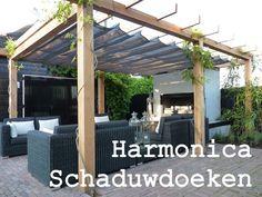 voor de buitenkamer?! Harmonica schaduwdoeken http://www.zonnedoeken.nl