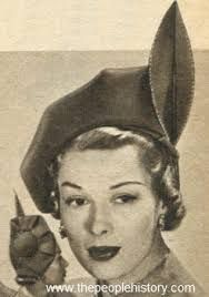 Image result for 1950 hats