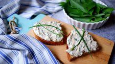 Bryndzová pomazánka s medvědím česnekem Feta, Camembert Cheese, Recipies, Dairy, Recipes