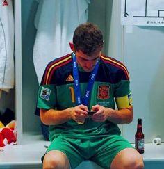 Iker casillas after World Cup:)