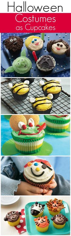 What are your cupcakes dressing up as for Halloween this year?