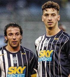 Del Piero & Ibrahimovic.