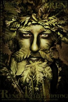 Green Man by Renee Keith