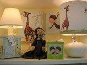 A safari themed baby room!
