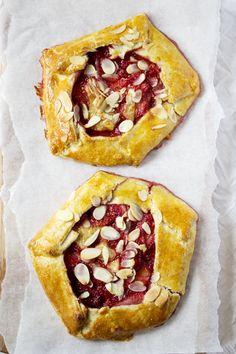 Strawberry banana Galettes