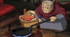 Gifs That Prove Miyazaki Is A Total Foodie