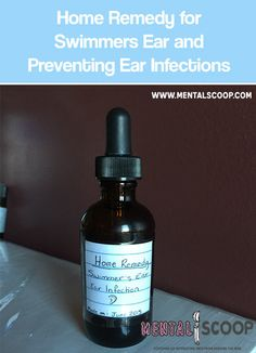 Home Remedy for Swimmers Ear and Preventing Ear Infections. Make this simple solution to combat swimmers ear and ear infections the natural way.