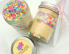 Jar cakes. Have to try.
