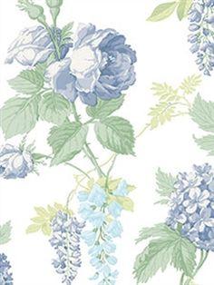 CG28827 - Wallpaper | Rose Garden | AmericanBlinds.com