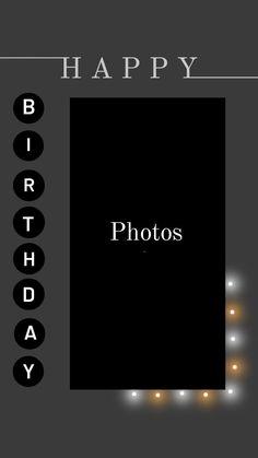 Happy Birthday Template, Happy Birthday Frame, Happy Birthday Posters, Happy Birthday Quotes For Friends, Happy Birthday Wallpaper, Birthday Posts, Birthday Captions Instagram, Birthday Post Instagram, Instagram Blog