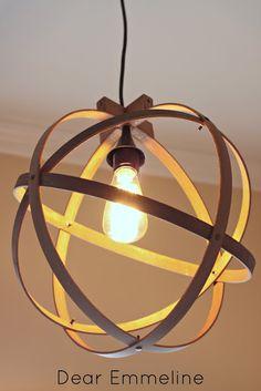 59 Ideas Embroidery Hoop Light Fixture Diy For 2019 Diy Embroidery Hoop Light, Diy Easy Embroidery, Embroidery Hoop Crafts, Christmas Embroidery, Embroidery Patterns, Globe Pendant Light, Pendant Lighting, Pendant Lamps, Diy Luz
