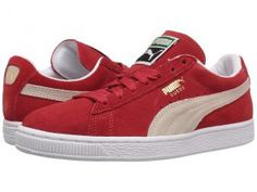 PUMA Suede Classic (High Risk Red/White) Women's Shoes