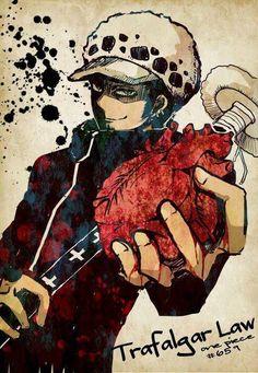 Trafalgar D. Water Law, heart, text, Surgeon of Death; One Piece Manga Anime One Piece, One Piece Fanart, Anime Manga, Zoro, Trafalgar Law Wallpapers, Trafalgar D Water Law, Akuma No Mi, Japanese Tattoo Art, Go Wallpaper