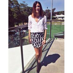 Laura C wear our Pebbles Skirt! Shop Tweet's newest arrivals at www.tweettweetfashion.com.au