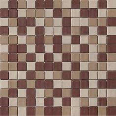 Glass Mosaic Tile Earth Matte Finish