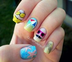 74 Best Theme Nail Art Images On Pinterest Cute Nails Pretty