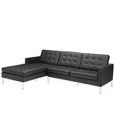 LexMod - Loft Left-Arm Sectional Sofa